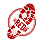 The Red Trail Community Group logo with transparent background in a small size