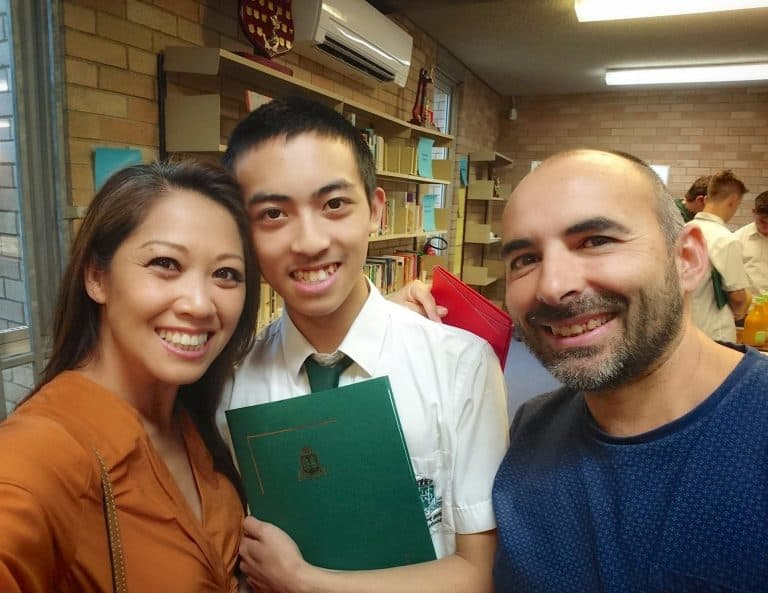 Jayden Huynh completes Year 11 with amazing results