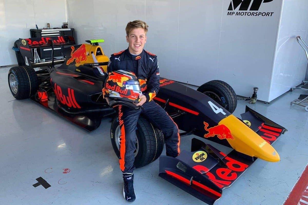 Liam Lawson F3 Driver